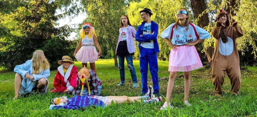 фото актерские занятия лагерь arbuz.zone kinder-camp.com.ua