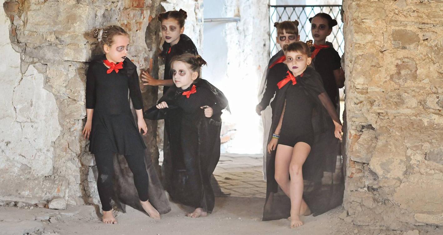 юные актеры на съемках в лагере kids movie camp kinder-camp.com.ua