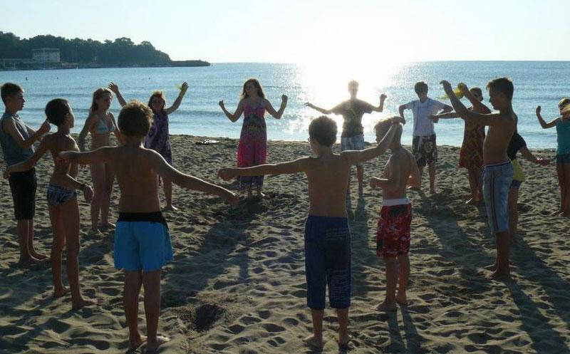 фото дети море magic camp болгария kinder-canp.com.ua